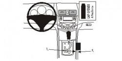 Fixation voiture Proclip  Brodit Acura TSX Réf 833471