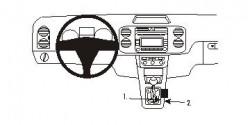 Fixation voiture Proclip  Brodit Volkswagen Golf Plus Réf 833611