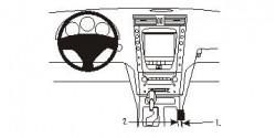 Fixation voiture Proclip  Brodit Lexus GS Series Réf 833619
