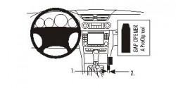Fixation voiture Proclip  Brodit Mercedes Benz CLS-Class Réf 833625