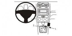 Fixation voiture Proclip  Brodit Volkswagen GLI Réf 833690
