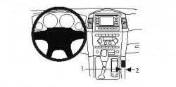 Fixation voiture Proclip  Brodit Jeep Commander Réf 833699