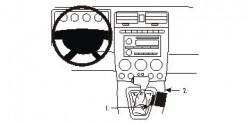 Fixation voiture Proclip  Brodit Hummer H3 Réf 833703