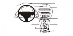 Fixation voiture Proclip  Brodit Honda Civic Réf 833734