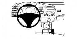 Fixation voiture Proclip  Brodit Acura CSX Réf 833810