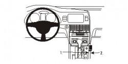 Fixation voiture Proclip  Brodit Audi Q7  Pas pour les modèles S. Réf 833814