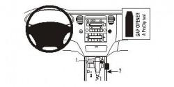 Fixation voiture Proclip  Brodit Hyundai Azera Réf 833827
