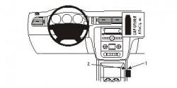 Fixation voiture Proclip  Brodit Chevrolet Avalanche  SEULEMENT pour les modèles avec console de plancher. Réf 833842