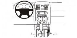 Fixation voiture Proclip  Brodit Chrysler 300 Réf 833845
