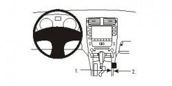Fixation voiture Proclip  Brodit Lexus IS Convertible Series  SEULEMENT pour le boite automatique. Réf 833849