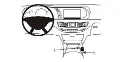Fixation voiture Proclip  Brodit Mercedes Benz S-Class Réf 833854