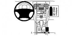 Fixation voiture Proclip  Brodit Kia Sorento Réf 834076
