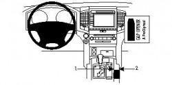 Fixation voiture Proclip  Brodit Toyota LandCruiser  SEULEMENT pour le boite automatique. Réf 834143