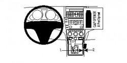 Fixation voiture Proclip  Brodit Mazda 6 Réf 834170