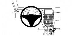 Fixation voiture Proclip  Brodit Mercedes Benz GLK-Class Réf 834270