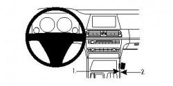 Fixation voiture Proclip  Brodit BMW 730-750 F01, F02 Réf 834299