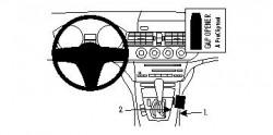 Fixation voiture Proclip  Brodit BMW Z4 Réf 834348