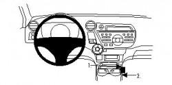Fixation voiture Proclip  Brodit Honda Insight Réf 834361