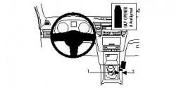 Fixation voiture Proclip  Brodit Subaru Legacy Réf 834426