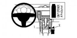 Fixation voiture Proclip  Brodit Porsche Panamera Réf 834484