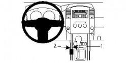 Fixation voiture Proclip  Brodit Nissan King Cab Réf 834522