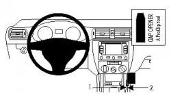 Fixation voiture Proclip  Brodit Volkswagen Jetta Réf 834533