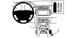 Fixation voiture Proclip Brodit Land Rover Range Rover Evoque Réf 834703