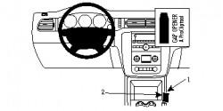 Fixation voiture Proclip  Brodit Chevrolet Avalanche  SEULEMENT pour les modèles avec console de plancher. Réf 834750