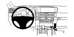 Fixation voiture Proclip  Brodit Lexus LS Series Réf 834848