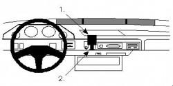 Fixation voiture Proclip  Brodit Rover 200/25 Réf 851560