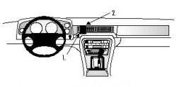 Fixation voiture Proclip  Brodit Daimler 4.0 Réf 851575