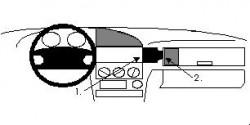 Fixation voiture Proclip  Brodit BMW 316-328 E36  Pas la double airbag. Réf 851914