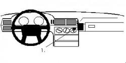 Fixation voiture Proclip  Brodit Volvo 850 Réf 851936