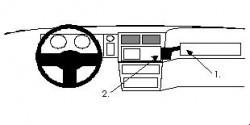 Fixation voiture Proclip  Brodit Ford Sierra Réf 851943
