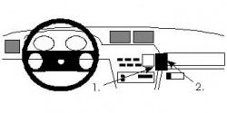 Fixation voiture Proclip  Brodit Opel Calibra Réf 851989