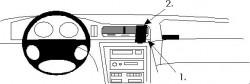 Fixation voiture Proclip  Brodit BMW 840-850 E31 Réf 852000