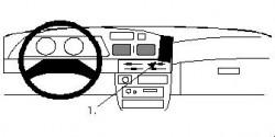 Fixation voiture Proclip  Brodit Toyota Lite Ace Réf 852001