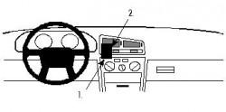 Fixation voiture Proclip  Brodit Mitsubishi Galant Réf 852014