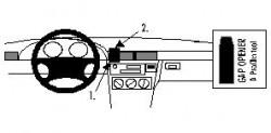 Fixation voiture Proclip  Brodit BMW Compact Réf 852065