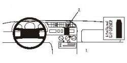 Fixation voiture Proclip  Brodit Citroen Jumper Réf 852072