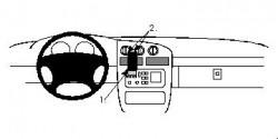 Fixation voiture Proclip  Brodit Chevrolet Lumina Réf 852139