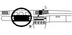 Fixation voiture Proclip  Brodit Ford Windstar Réf 852153
