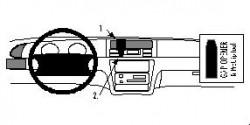 Fixation voiture Proclip  Brodit Honda Odyssey Réf 852228
