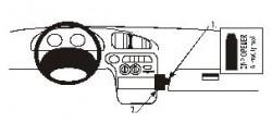 Fixation voiture Proclip  Brodit Hyundai Elantra Réf 852236
