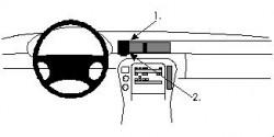 Fixation voiture Proclip  Brodit Lexus SC Series Réf 852244