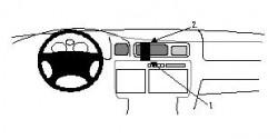 Fixation voiture Proclip  Brodit Lexus LX Series Réf 852249