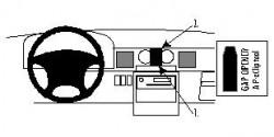Fixation voiture Proclip  Brodit Mazda MPV Réf 852268