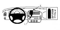 Fixation voiture Proclip  Brodit Ford Explorer  Stéréo européenne SEULEMENT. Réf 852288