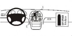 Fixation voiture Proclip  Brodit Mitsubishi Carisma Réf 852295