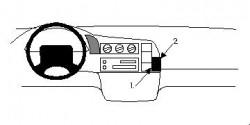 Fixation voiture Proclip  Brodit Chevrolet Astro Réf 852300